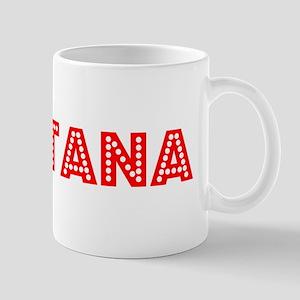 Retro Montana (Red) Mug