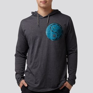 Pisces & Water Tiger Mens Hooded Shirt