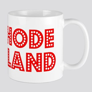 Retro Rhode Island (Red) Mug