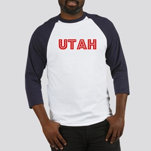 Retro Utah (Red) Baseball Jersey