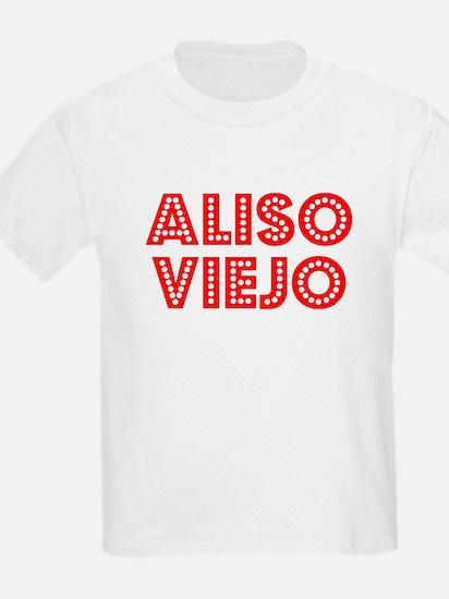 Retro Aliso Viejo (Red) T-Shirt