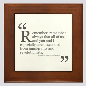 Revolutionists Framed Tile