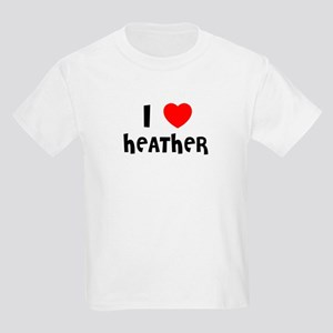 I LOVE HEATHER Kids T-Shirt