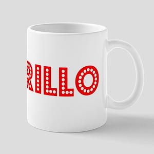 Retro Amarillo (Red) Mug