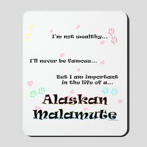Malamute Life Mousepad