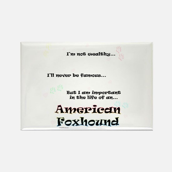 Foxhound Life Rectangle Magnet (100 pack)