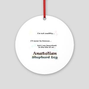 ASD Life Ornament (Round)