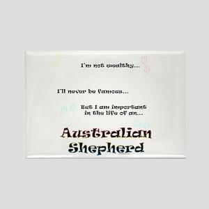 Aussie Shepherd Life Rectangle Magnet