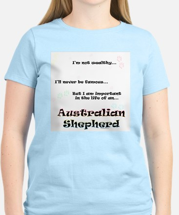 Aussie Shepherd Life Women's Light T-Shirt