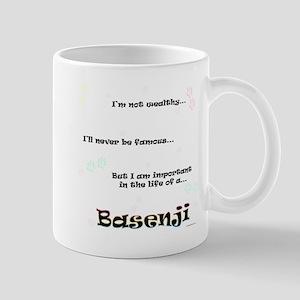 Basenji Life Mug