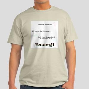 Basenji Life Light T-Shirt