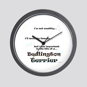 Bedlington Life Wall Clock