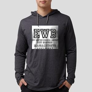 AIRPORT CODES - EWB - NEW BEDF Long Sleeve T-Shirt