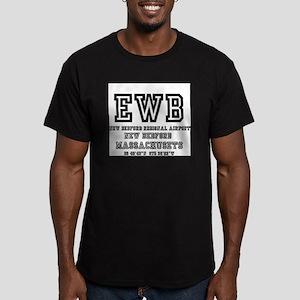 AIRPORT CODES - EWB - NEW BEDFORD - MASSAC T-Shirt