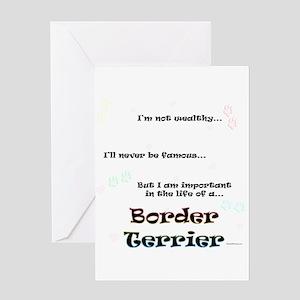 Border Terrier Life Greeting Card
