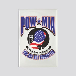 POW MIA Rectangle Magnet