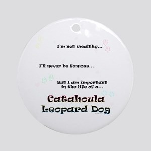 Catahoula Life Ornament (Round)