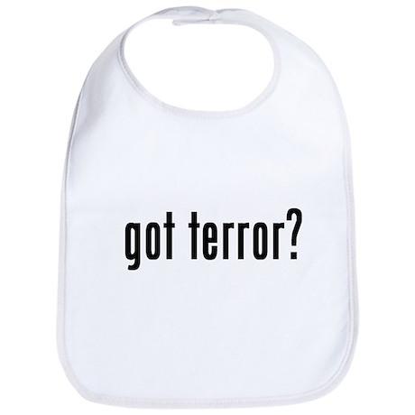 got terror? Bib