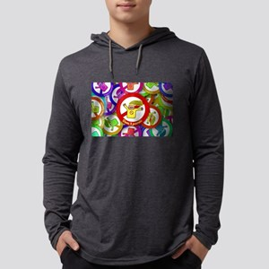 Rainbow Happy Don't Panic Long Sleeve T-Shirt