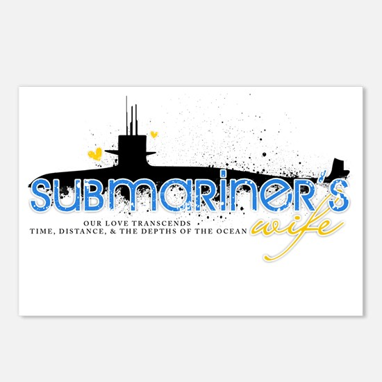 Submariner's Wife Postcards (Package of 8)