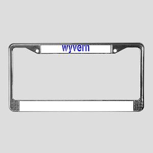 WYVERN License Plate Frame