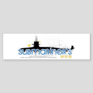 Submariner's Wife Bumper Sticker