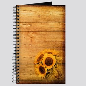 western country barnwood sunflower Journal