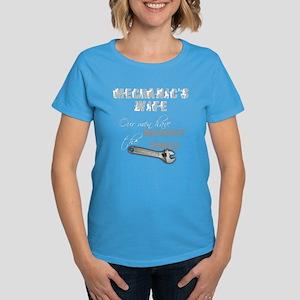Mechanic's Wife Women's Dark T-Shirt