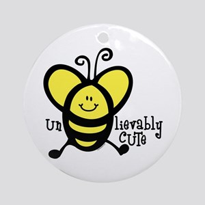 UnBEElievably Cute Ornament (Round)