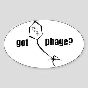 Phage Oval Sticker