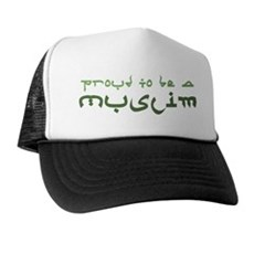 Proud To Be A Muslim Trucker Hat