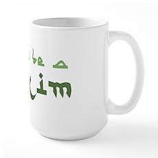 Proud To Be A Muslim Large Mug
