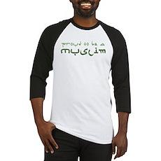 Proud To Be A Muslim Baseball Jersey
