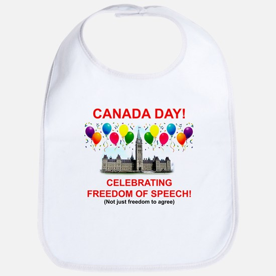 Canada Day 2 Bib