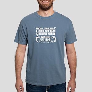 Dog Hair Siberian Husky Magic Glitter T-Shirt