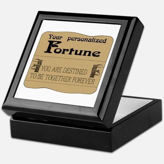 Fortune Card Keepsake Box