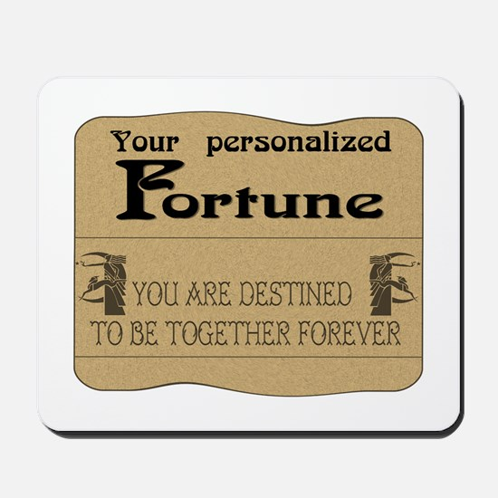Fortune Card Mousepad