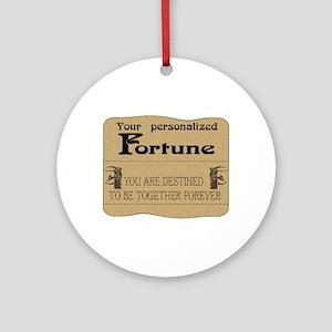Fortune Card Ornament (Round)