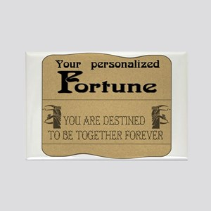 Fortune Card Rectangle Magnet