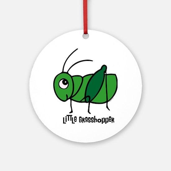 Little Grasshopper Ornament (Round)