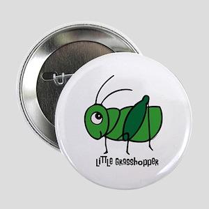 """Little Grasshopper 2.25"""" Button"""