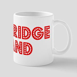 Retro Bainbridge I.. (Red) Mug