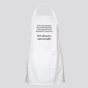Not allowed BBQ Apron