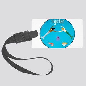 Together Large Luggage Tag