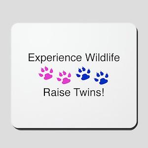 Experience Wildlife Raise Twi Mousepad