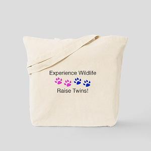 Experience Wildlife Raise Twi Tote Bag
