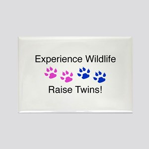 Experience Wildlife Raise Twi Rectangle Magnet