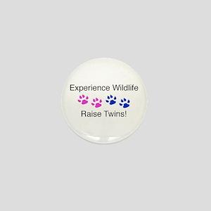 Experience Wildlife Raise Twi Mini Button
