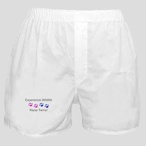 Experience Wildlife Raise Twi Boxer Shorts