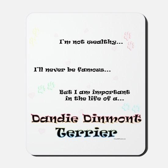 Dandie Dinmont Life Mousepad